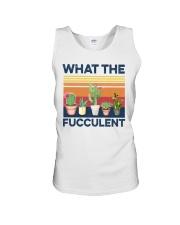 what the fucculent shirt Unisex Tank thumbnail