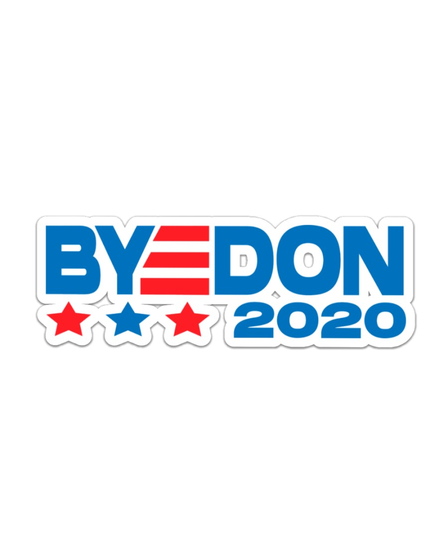 byedon 2020 Sticker - Single (Horizontal)