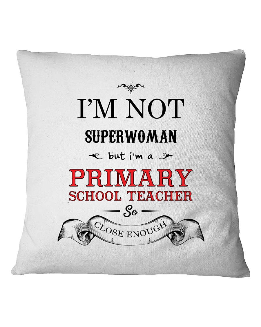 Awesome Primary School Teacher Gift Square Pillowcase