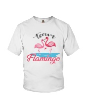 Team Flamingo Youth T-Shirt tile