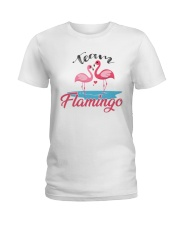 Team Flamingo Ladies T-Shirt tile