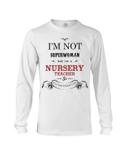 Awesome Nursery Teacher Gift Long Sleeve Tee thumbnail