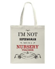 Awesome Nursery Teacher Gift Tote Bag front
