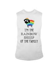Awesome Rainbow Sheep of the Family Super Sale Sleeveless Tee thumbnail