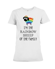 Awesome Rainbow Sheep of the Family Super Sale Premium Fit Ladies Tee thumbnail