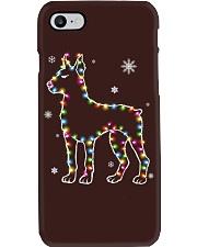 Doberman Pinscher Dog Christmas Shirt Phone Case thumbnail