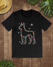 Doberman Pinscher Dog Christmas Shirt Classic T-Shirt lifestyle-mens-crewneck-front-18
