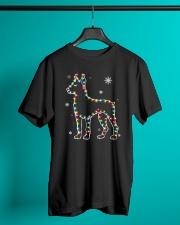 Doberman Pinscher Dog Christmas Shirt Classic T-Shirt lifestyle-mens-crewneck-front-3