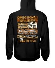 Directional Driller Hooded Sweatshirt back