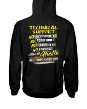 Technical Support Hooded Sweatshirt back