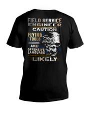 Field Service Engineer V-Neck T-Shirt thumbnail