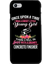 Concrete Finisher Phone Case tile