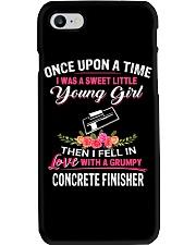 Concrete Finisher Phone Case tile