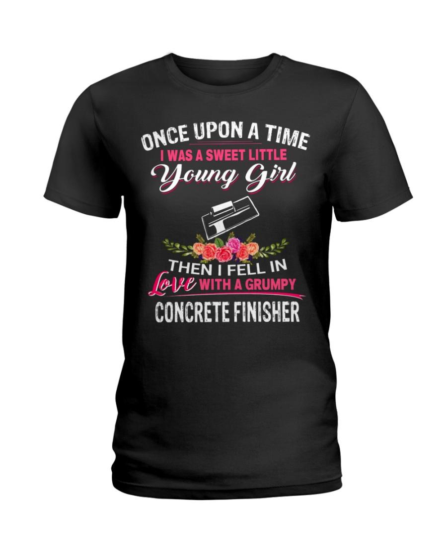 Concrete Finisher Ladies T-Shirt