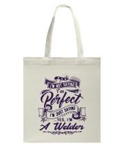 WELDER SHIRT Tote Bag thumbnail