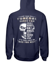 Funeral Director Hooded Sweatshirt back