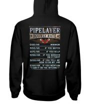 Pipelayer Hooded Sweatshirt back