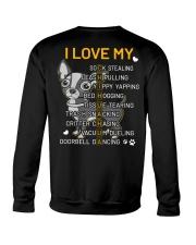 I Love My Chihuahua Dog Crewneck Sweatshirt thumbnail
