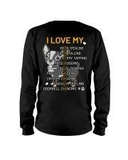 I Love My Chihuahua Dog Long Sleeve Tee thumbnail