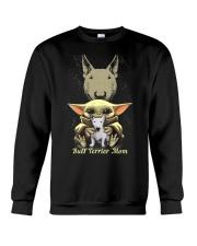 Bull Terrier Mom Crewneck Sweatshirt thumbnail