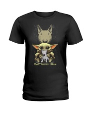 Bull Terrier Mom Ladies T-Shirt front