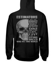 Estimator Hooded Sweatshirt back