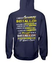 Installer Hooded Sweatshirt back