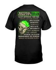Material Handler Classic T-Shirt back