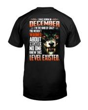 December Guy Classic T-Shirt back