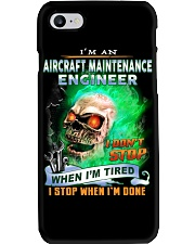 Aircraft Maintenance Engineer Phone Case thumbnail