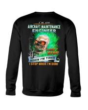 Aircraft Maintenance Engineer Crewneck Sweatshirt thumbnail