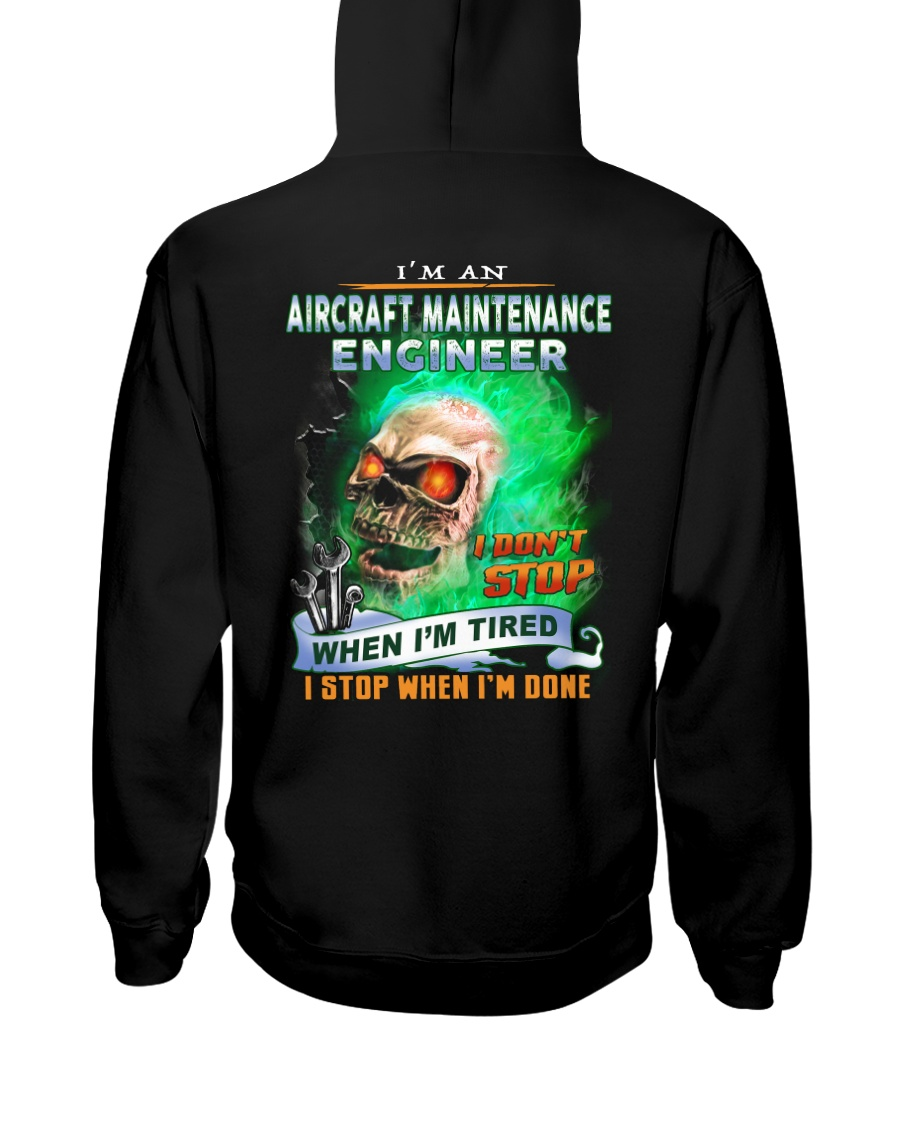 Aircraft Maintenance Engineer Hooded Sweatshirt
