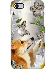 Corgi Flower Phone Case Phone Case i-phone-8-case