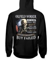 Oilfield Worker Hooded Sweatshirt back