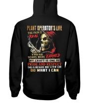 Plant Operator Hooded Sweatshirt back