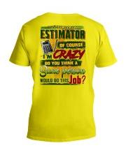 Estimator V-Neck T-Shirt thumbnail