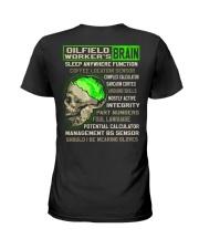 Oilfield Worker Ladies T-Shirt thumbnail