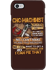 CNC Machinist Phone Case thumbnail