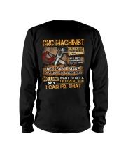 CNC Machinist Long Sleeve Tee thumbnail