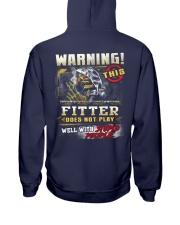Fitter Hooded Sweatshirt back