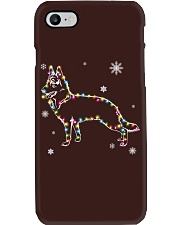 German Shepherd Dog Christmas Phone Case tile