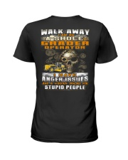 Grader Operator Ladies T-Shirt thumbnail