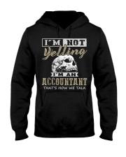 Accountant Hooded Sweatshirt front