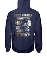 Sales Manager Hooded Sweatshirt back