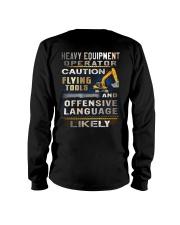 Heavy Equipment Operator Long Sleeve Tee thumbnail