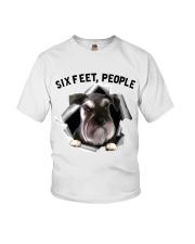 Schnauzer 6 Feet People Shirt Youth T-Shirt tile