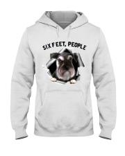 Schnauzer 6 Feet People Shirt Hooded Sweatshirt tile