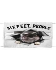 Schnauzer 6 Feet People Shirt Mask tile