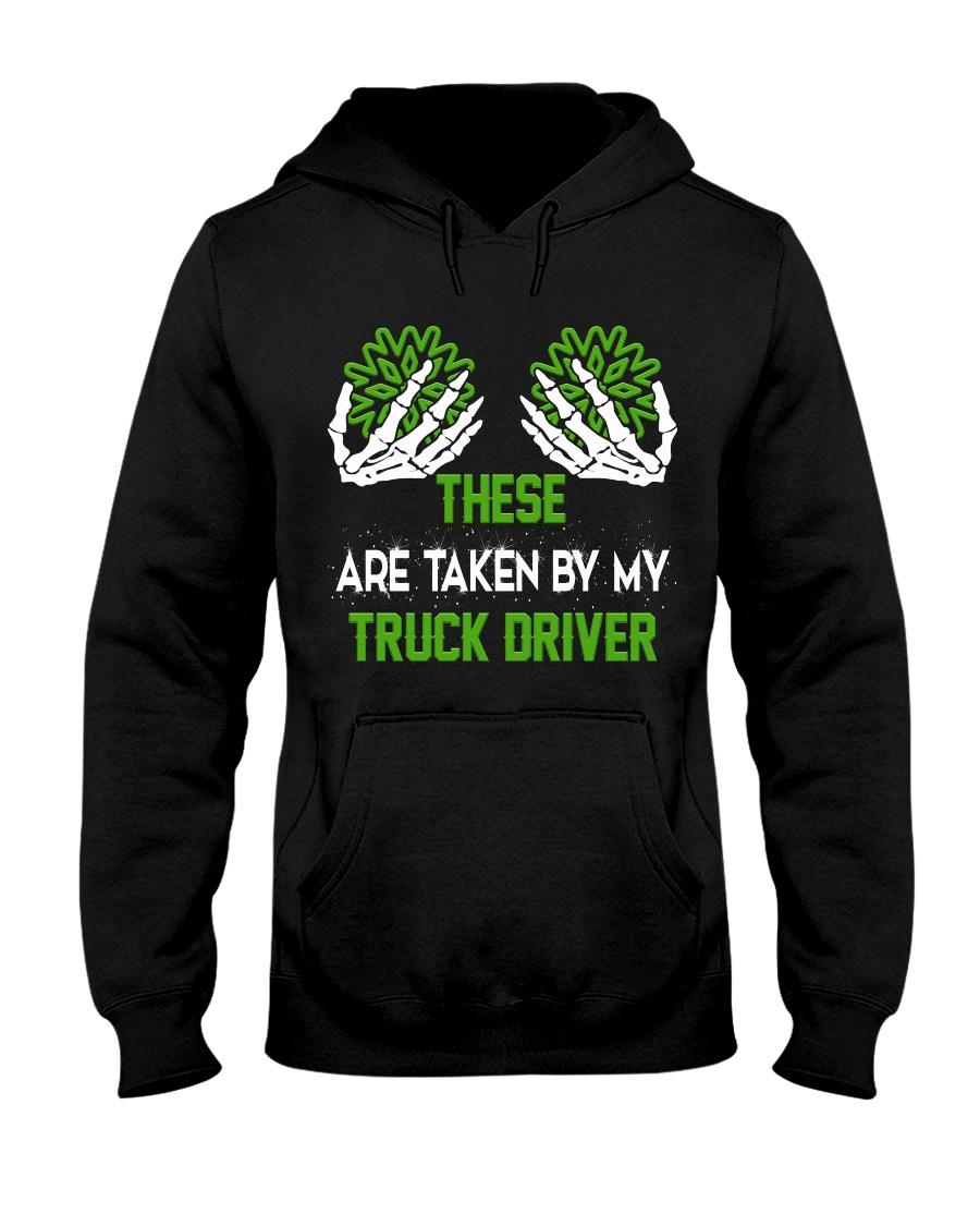 TRUCK DRIVER SHIRT Hooded Sweatshirt