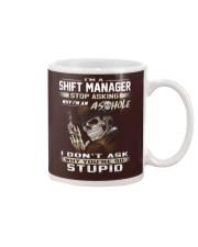 Shift Manager Mug thumbnail